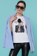 молодежная футболка с принтом. Кофе Vogue футболка Boy-2 C. Цвет: белый купить