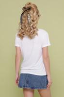 модная женская футболка. Девочки-Очки футболка Boy-2 D. Цвет: белый в интернет-магазине