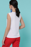 легкая футболка с принтом. Туфли цветы футболка Киви б/р. Цвет: белый купить