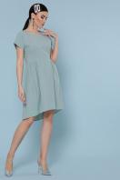 оливковое платье с коротким рукавом. платье Вилена к/р. Цвет: оливковый купить