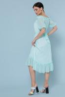 шифоновое лавандовое платье. платье Устинья  к/р. Цвет: мята цена