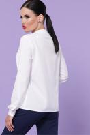 бордовая блузка с длинным рукавом. блуза Жанна д/р. Цвет: белый недорого