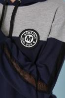 черный костюм для отдыха. Костюм Банни. Цвет: синий-серый в интернет-магазине