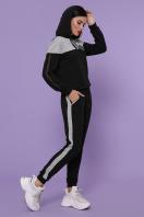 черный костюм для отдыха. Костюм Банни. Цвет: черный-серый купить