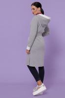 серый кардиган с капюшоном. кардиган Тейми д/р. Цвет: серый в интернет-магазине