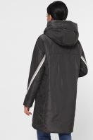 демисезонная серая куртка. Куртка 52. Цвет: графит цена
