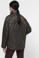 демисезонная черная куртка. Куртка 991. Цвет: серо-зелёный цена
