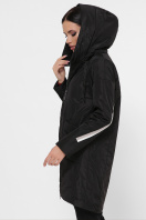 демисезонная серая куртка. Куртка 52. Цвет: черный купить