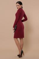 . платье-гольф Алена д/р. Цвет: бордо цена