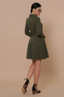 мини платье цвета хаки. Платье Ефимия (кор.) д/р. Цвет: хаки в интернет-магазине