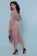 офисное платье цвета хаки. платье Ефимия д/р. Цвет: лиловый в интернет-магазине