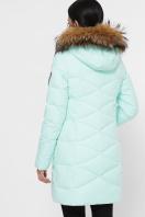 зимняя мятная куртка. Куртка 18-121. Цвет: 8-мята цена