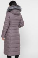 длинная куртка на зиму. Куртка 1801. Цвет: 7-капучино цена