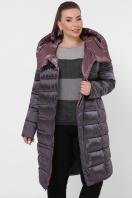изумрудная куртка для полных. Куртка 19-39-Б. Цвет: 29-графит купить