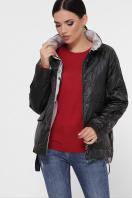демисезонная черная куртка. Куртка 991. Цвет: черный купить