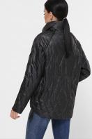 демисезонная черная куртка. Куртка 991. Цвет: черный цена