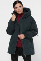 темно-зеленая зимняя куртка. Куртка М-93. Цвет: 13-т.зеленый купить