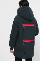 темно-зеленая зимняя куртка. Куртка М-93. Цвет: 13-т.зеленый цена