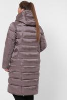 изумрудная куртка для полных. Куртка 19-39-Б. Цвет: 30-капучино цена
