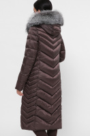 длинная коричневая куртка. Куртка 19-59. Цвет: 11-коричневый цена