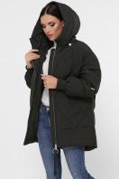 темно-зеленая зимняя куртка. Куртка М-93. Цвет: 16-т.хаки купить