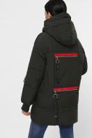 темно-зеленая зимняя куртка. Куртка М-93. Цвет: 16-т.хаки цена