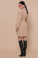 двубортное темно-серое пальто. Пальто П-347-М-90. Цвет: 5-бежевый цена