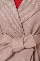 двубортное темно-серое пальто. Пальто П-347-М-90. Цвет: 2-песочный в интернет-магазине