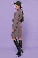 двубортное темно-серое пальто. Пальто П-347-М-90. Цвет: 7-т.бежевый цена