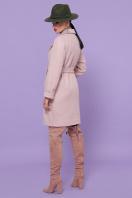 двубортное темно-серое пальто. Пальто П-347-М-90. Цвет: 3-пудра цена