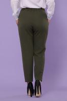 большие брюки цвета хаки. Бриджит-Б брюки. Цвет: хаки купить