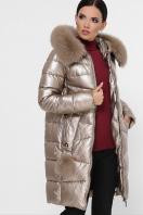 золотистая куртка на зиму. Куртка М-18-138. Цвет: 21-золото купить