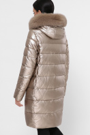 золотистая куртка на зиму. Куртка М-18-138. Цвет: 21-золото цена