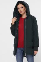 синяя зимняя куртка. Куртка М-101. Цвет: 13-изумруд купить