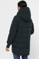 синяя зимняя куртка. Куртка М-101. Цвет: 13-изумруд цена