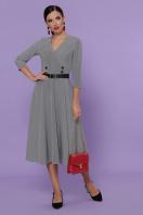 . платье Киана д/р. Цвет: лапка м.черная купить