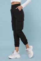 брюки карго цвета хаки. брюки-карго Стеф. Цвет: черный цена