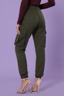 брюки карго цвета хаки. брюки-карго Стеф. Цвет: хаки цена