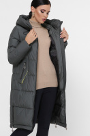 темно-синяя куртка на зиму. Куртка М-109. Цвет: 17-хаки купить