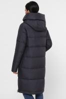 темно-синяя куртка на зиму. Куртка М-109. Цвет: 28-графит цена