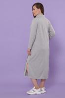 бордовое платье для пышных женщин. платье Джилл-Б д/р. Цвет: серый цена
