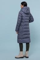 стеганая куртка серого цвета. Куртка 6079. Цвет: серый цена