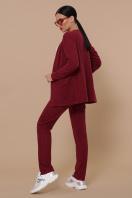 бордовый повседневный костюм. Костюм Трейси. Цвет: бордо цена