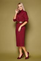 синее платье плиссе. платье Заира д/р. Цвет: бордо купить