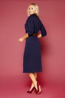 синее платье плиссе. платье Заира д/р. Цвет: синий цена