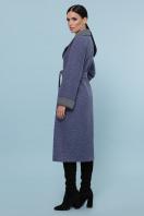 темно-серое шерстяное пальто. Пальто П-347-110. Цвет: 11-синий в интернет-магазине