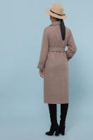темно-серое шерстяное пальто. Пальто П-347-110. Цвет: 1-коричневый в интернет-магазине