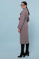 темно-серое шерстяное пальто. Пальто П-347-110. Цвет: 7-т.бежевый в интернет-магазине
