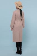 темно-серое шерстяное пальто. Пальто П-347-110. Цвет: 2-песочный в интернет-магазине