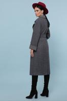 темно-серое шерстяное пальто. Пальто П-347-110. Цвет: 12-т.серый в интернет-магазине